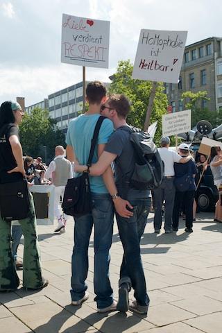 Demonstrationteilnehmer