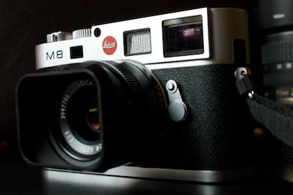 Die Testkamera: Eine Leica M8