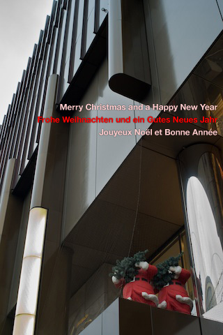 Merry Christmas – Frohe Weihnachten – Joyeux Noel